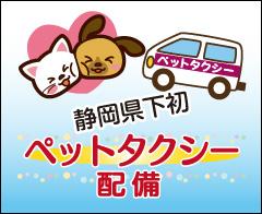 静岡県下初!ペットタクシー配備